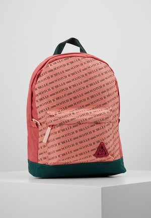 ALL OVER PRINTED BACKPACK - Sac à dos - salmon