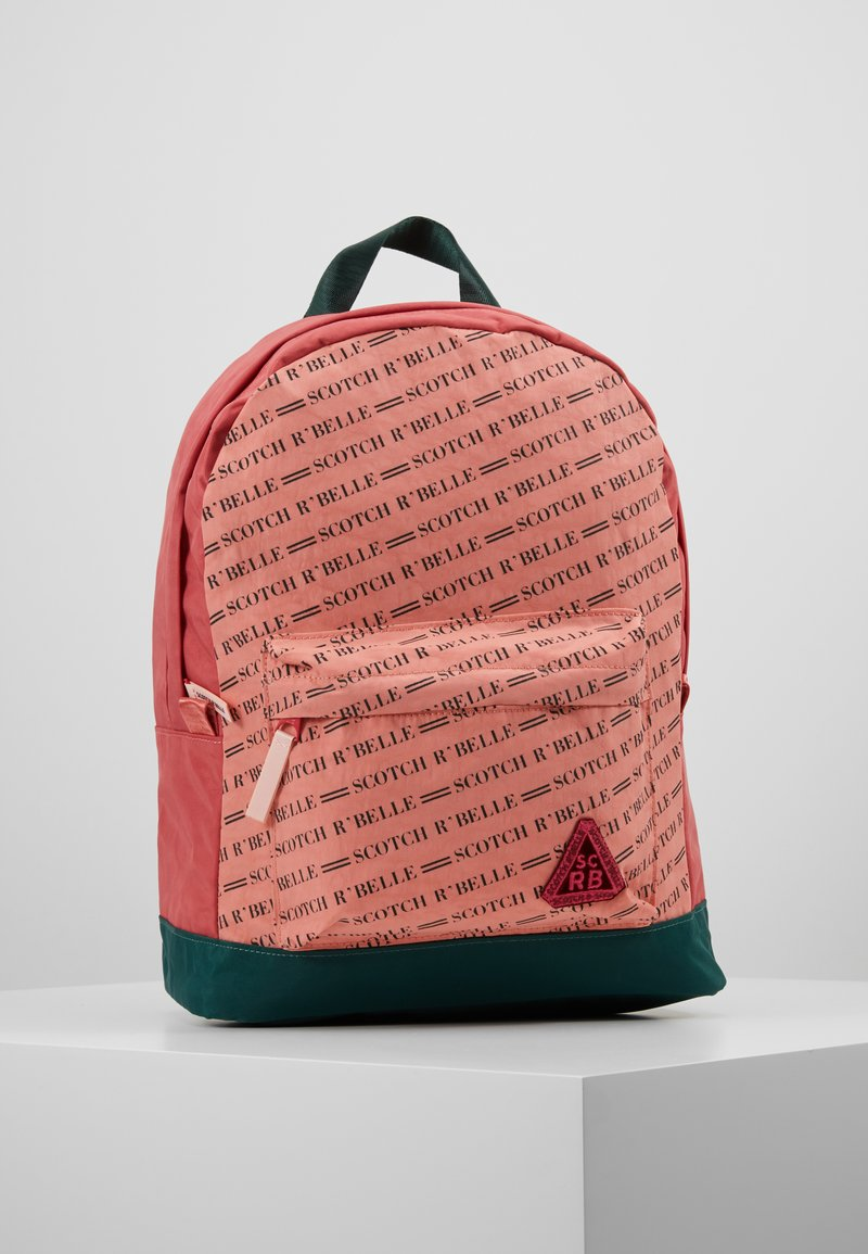 Scotch R'Belle - ALL OVER PRINTED BACKPACK - Rygsække - salmon