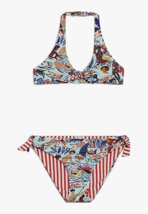 KEONI REVERSIBLE - Bikini - blue