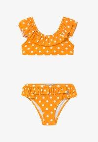 Scotch & Soda - WITH RUFFLED SHOULDER DETAILS - Bikini - orange - 2