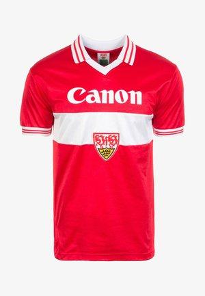VFB STUTTGART AWAY 1980 - Equipación de clubes - red