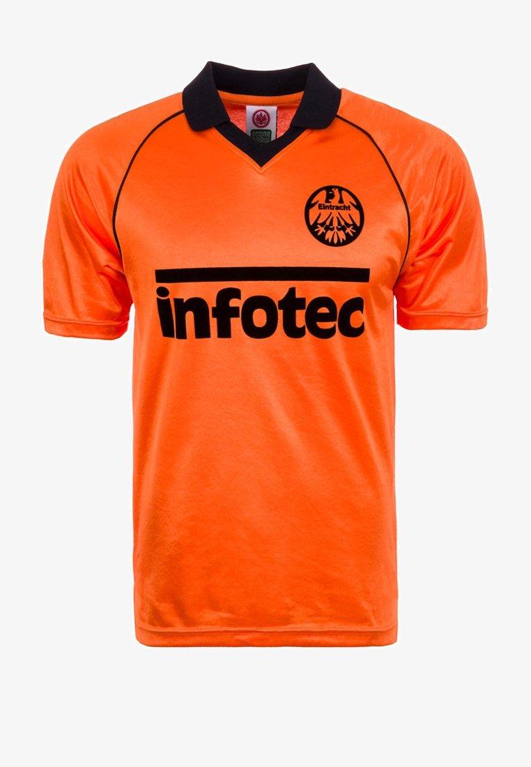 Scoredraw - EINTRACHT FRANKFURT AWAY 1981 - Club wear - orange/black