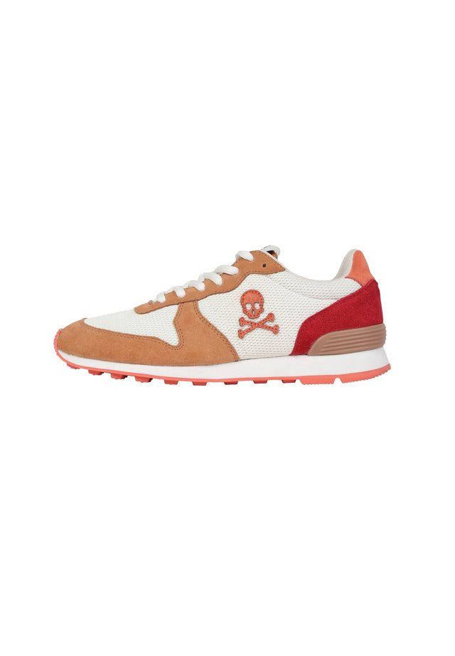 WITH SKULL INSIGNIA - Trainers - mandarine