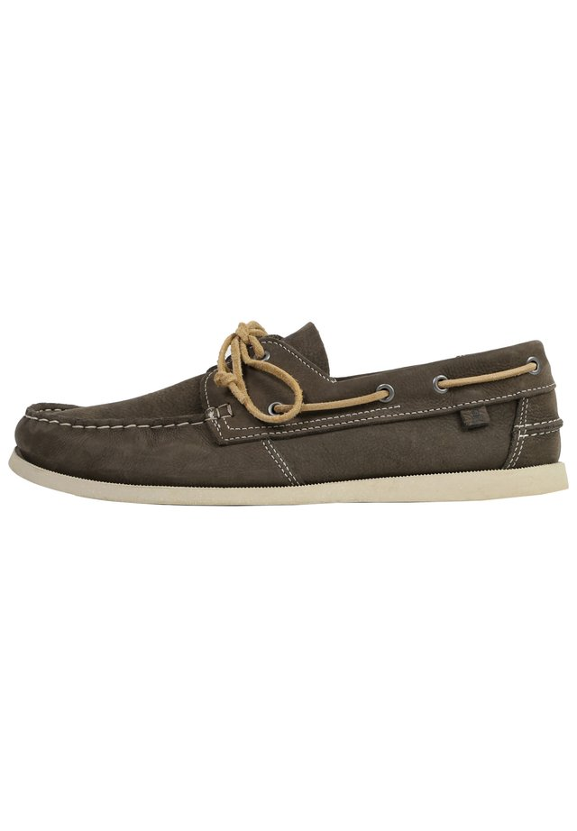 Boat shoes - grey