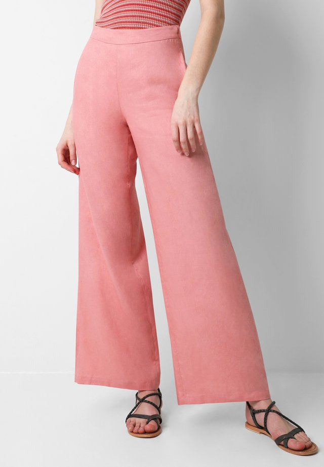 PALAZZO - Trousers - pink