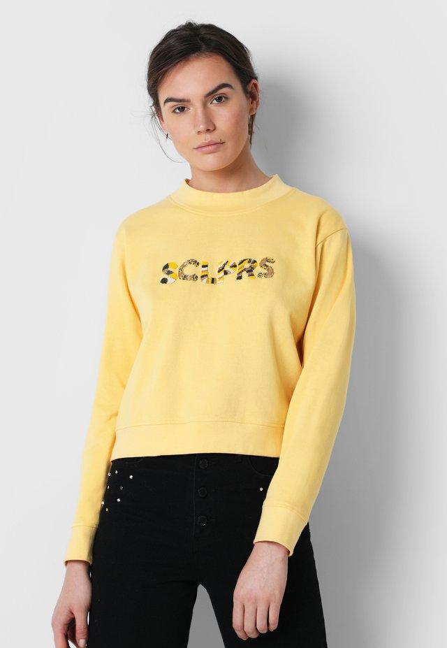 BEADED - Sweater - yellow