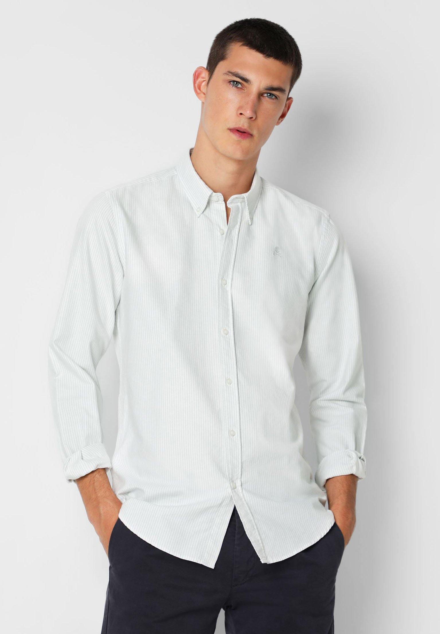 stripe oxford chemise zalando