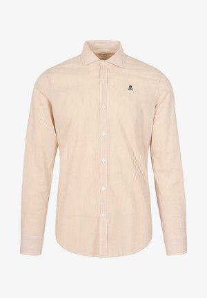 SKULL - Overhemd - mustard stripes