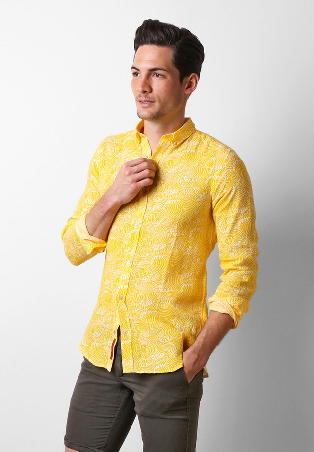 WAVES - Camicia - yellow
