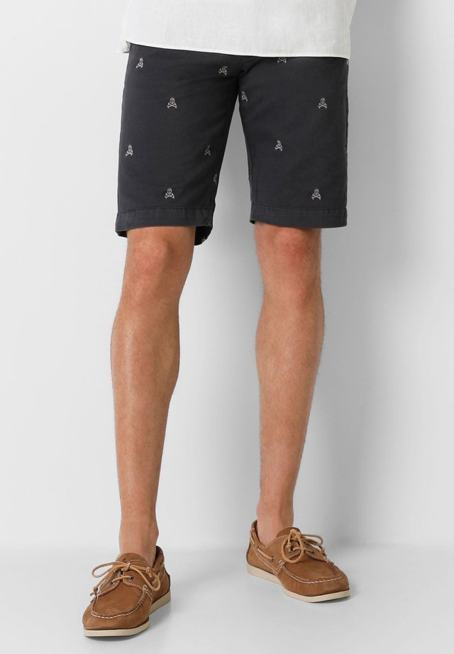 SKULL - Shorts - dark grey