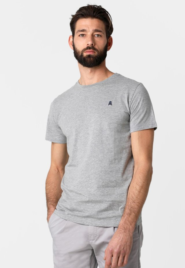 SKULL  - T-shirt basic - grey melange