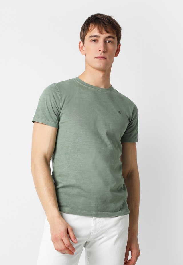 SKULL  - T-shirt basic - khaki