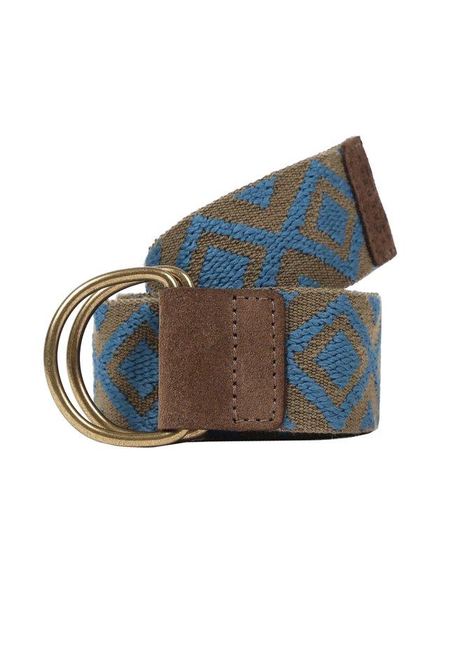 GEOMETRIC ETHNIC - Belt - khaki