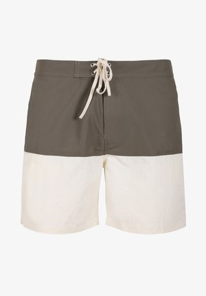 TWO-TONE SWIMMING TRUNKS - Zwemshorts - khaki