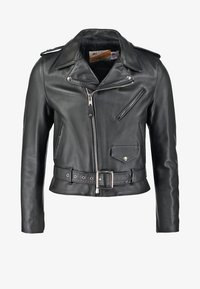Schott Made in USA - ONE STAR - Veste en cuir - black - 5