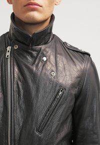 Schott Made in USA - Veste en cuir - black - 4