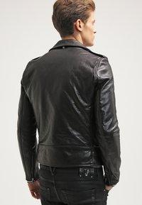 Schott Made in USA - Veste en cuir - black - 2