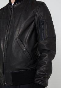 Schott Made in USA - Kožená bunda - black - 6
