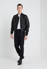 Schott Made in USA - Kožená bunda - black - 1