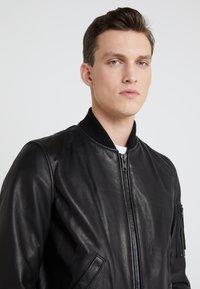 Schott Made in USA - Kožená bunda - black - 4