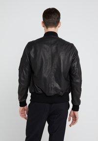 Schott Made in USA - Kožená bunda - black - 2
