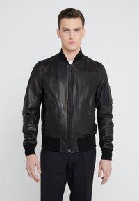 Schott Made in USA - Kožená bunda - black - 3