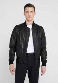Schott Made in USA - Kožená bunda - black - 0