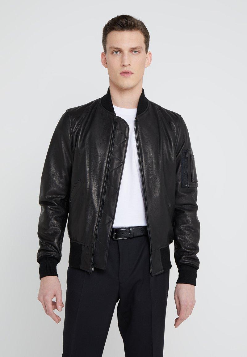 Schott Made in USA - Kožená bunda - black