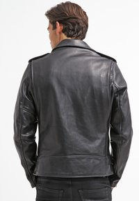 Schott Made in USA - PERFECTO - Veste en cuir - black - 2