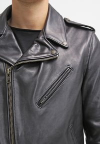 Schott Made in USA - PERFECTO - Veste en cuir - black - 4