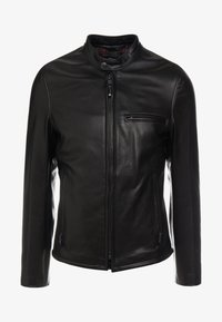 Schott Made in USA - CAFE RACER - Giacca di pelle - black - 4