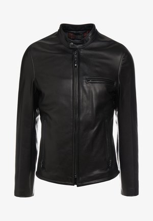 CAFE RACER - Giacca di pelle - black