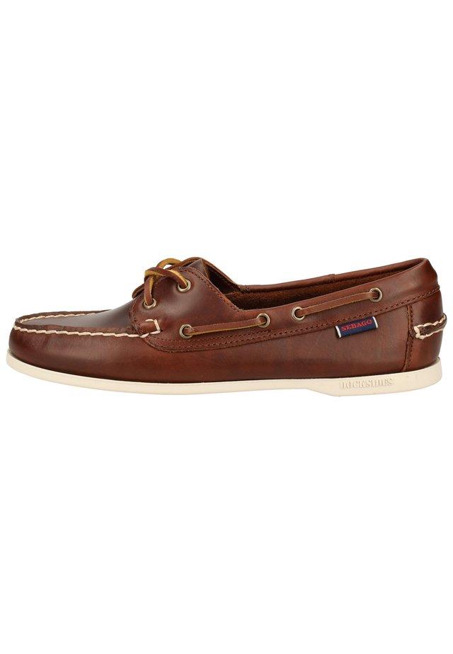SEBAGO HALBSCHUHE - Boat shoes - brown