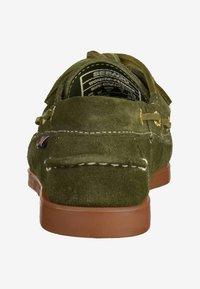 Sebago - Chaussures bateau - green - 3