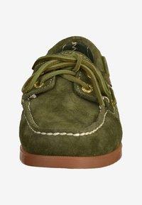 Sebago - Chaussures bateau - green - 5