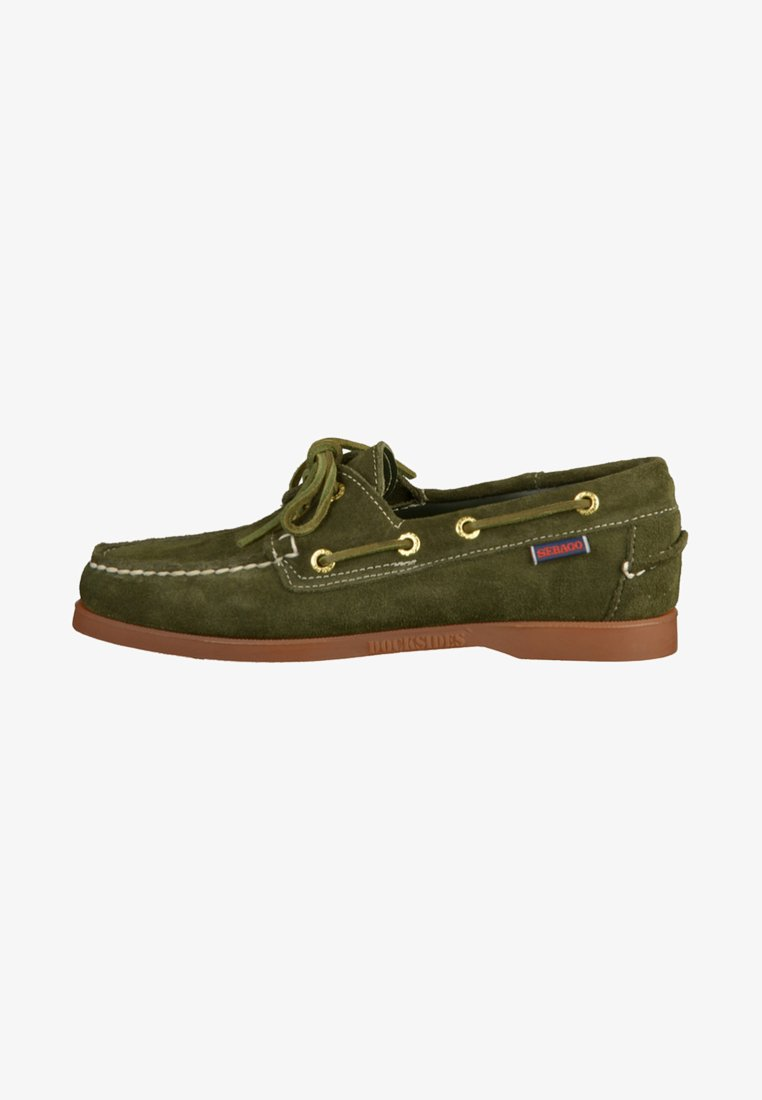 Sebago - Chaussures bateau - green