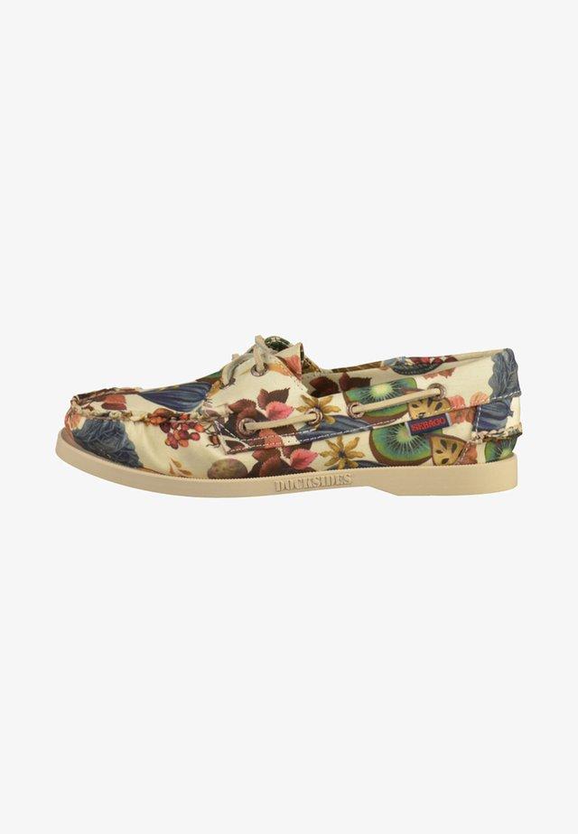 Boat shoes - multi-coloured