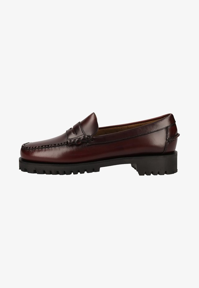Mocassins - brown burgundy