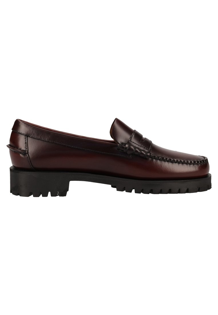 Sebago Mocassins - brown burgundy brown burgundy