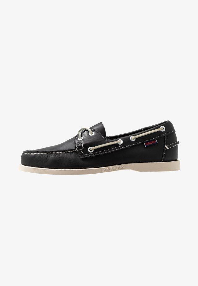 DOCKSIDES PORTLAND - Boat shoes - blue navy