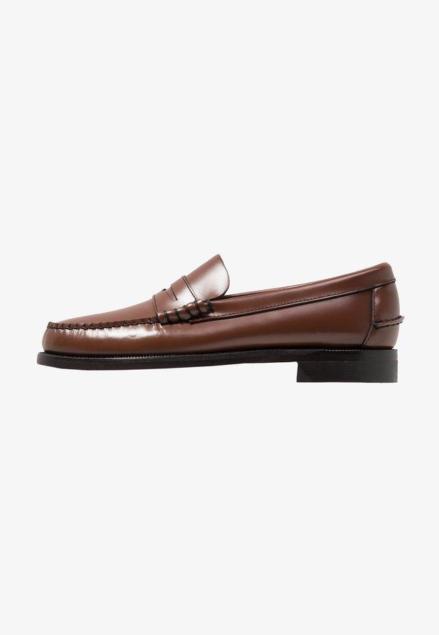 CLASSIC DAN - Smart slip-ons - brown