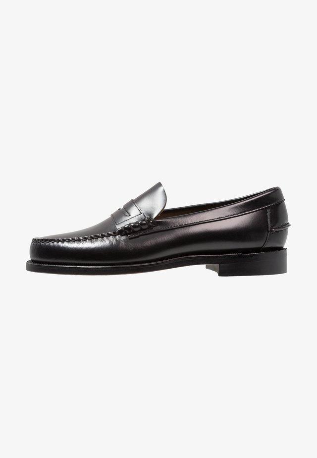 CLASSIC DAN - Smart slip-ons - black