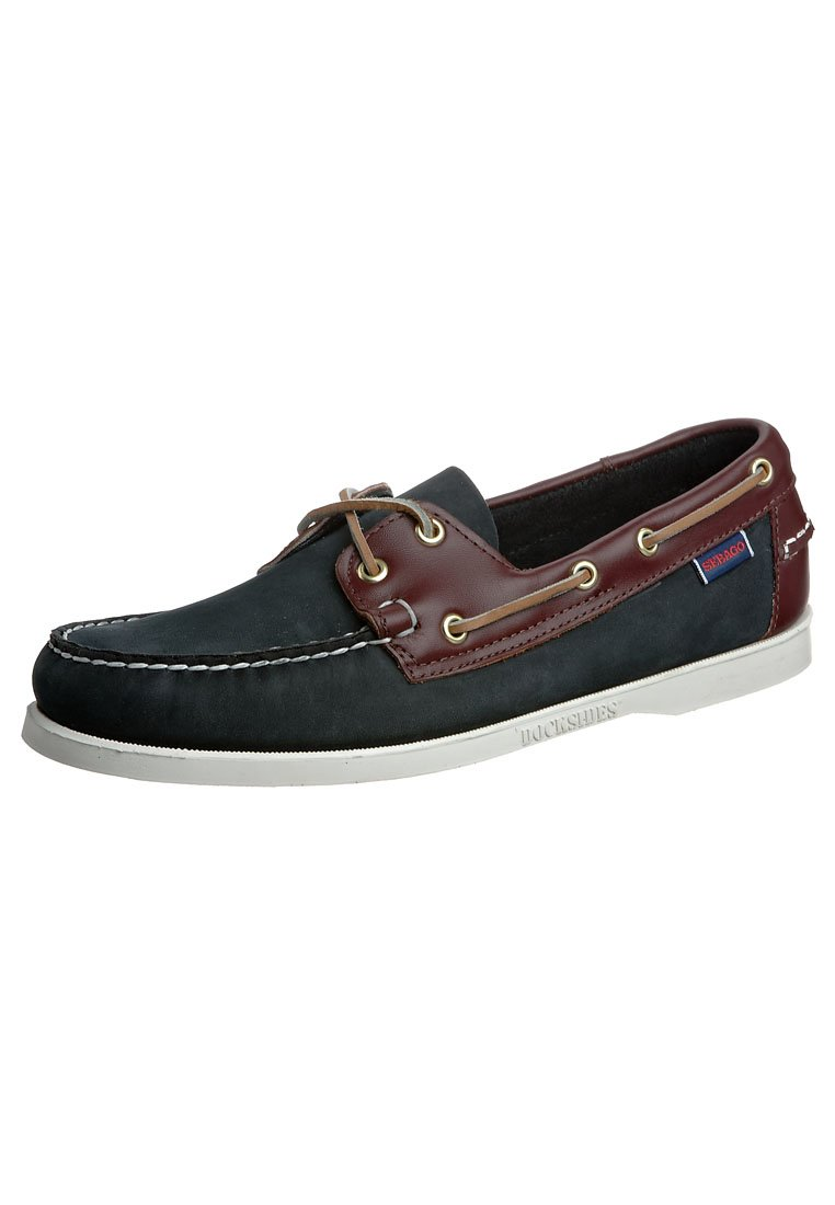 Sebago - SPINNAKER - Bootschoenen - blue/brown