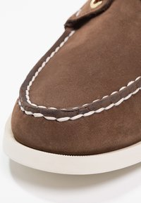 Sebago - DOCKSIDES - Buty żeglarskie - dark brown - 5