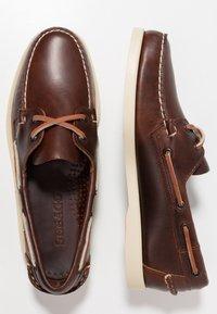 Sebago - DOCKSIDES PORTLAND  - Chaussures bateau - brown - 1