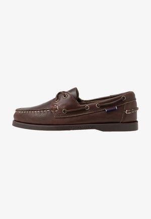 DOCKSIDES PORTLAND  - Boat shoes - dark brown