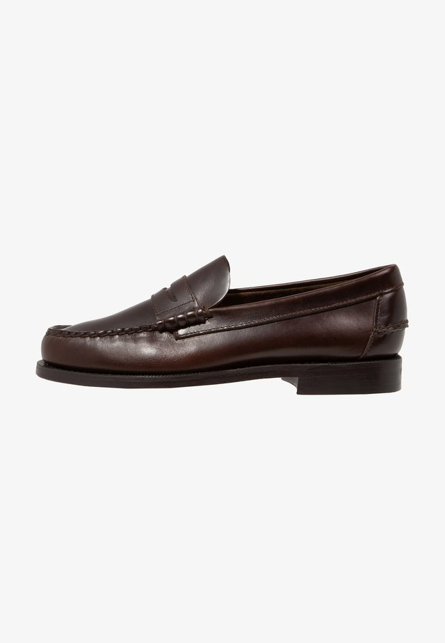 DAN WAXY - Business loafers - dark brown