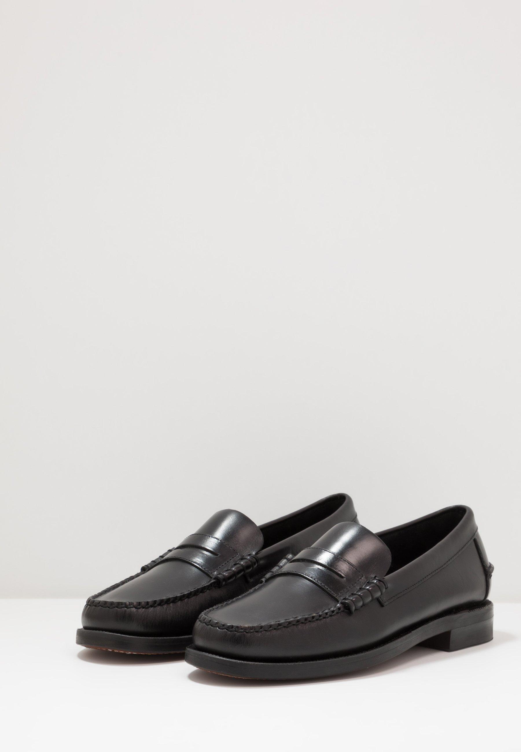 Sebago DAN WAXY - Eleganckie buty - black