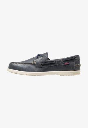 NAPLES - Chaussures bateau - blue navy