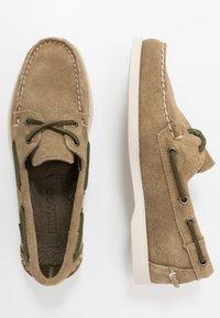 Sebago - DOCKSIDES PORTLAND - Chaussures bateau - green military - 1